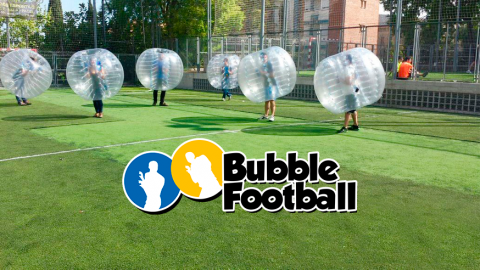 ¿Sabes qué es Bubble Football?