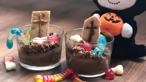 Vasitos Cementerio – Mousse Nutchoc