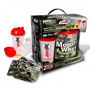 Monster Whey Protein - 2 kg + 6x33gr