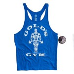 Camiseta Gold Gym Tirantes Azul
