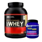 Whey Gold Standard + BCAA+G Powder