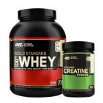 Whey Gold Standard + Creatine Powder