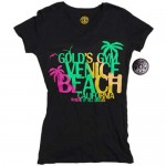 Camiseta Gold Gym Ladies Negra