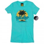 Camiseta Gold Gym Ladies Tahiti Blue