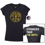 Camiseta Gold Gym Ladies Dark Grey