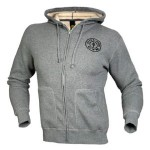 Sudadera Gold Gym Thermal Gris
