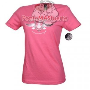 Camiseta Gold Gym Ladies Rosa