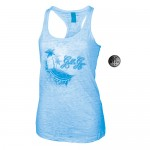 Camiseta Tirantes Gold Gym Ladies Azul