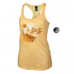 Camiseta Tirantes Gold Gym Ladies Amarilla