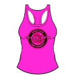 Camiseta Gold Gym tirantes Ladies Rosa