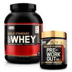 Pack Whey Gold Standard + Pre-WorkOut