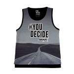 Camiseta AMIX #You Decide CARRETERA