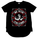 Camiseta AMIX YOU DECIDE STAY STRONG