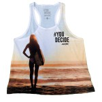 Camiseta Amix chica #You Decide SUNSET