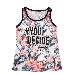 Camiseta Amix chica #You Decide ROSAS