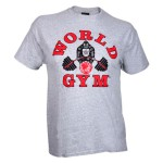 Camiseta Manga Corta World Gym Classic Antigua