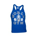 Camiseta de Tirantes World Gym Classic Azul