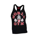 Camiseta de Tirantes World Gym Classic Negra