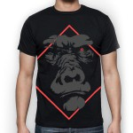 Camiseta The Ugly Monkey Negra