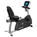 RS1 TRACK - Life Fitness R1 Recumbent Bike with TRACK Plus console