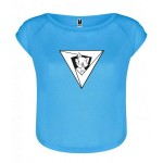 Camiseta PMF Mujer Sporty Chic Azul