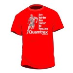 Camiseta Quamtrax Try Harder Roja