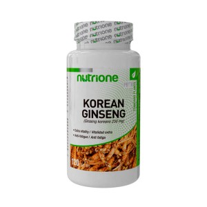 Korean Ginseng (Ginseng Coreano) - 120 tabls.