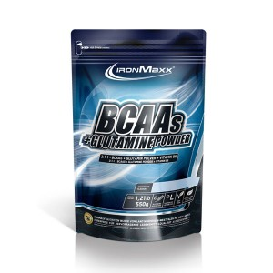 BCAAs + Glutamine Powder (Saco) - 550 gr