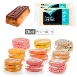 Pack Diet Premium (9 hambug. + 2 Queso proteico + Bizcocho Low Carb)