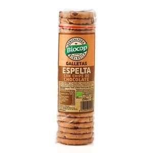 Galleta de Espelta con Chips de Chocolate - 250 gr