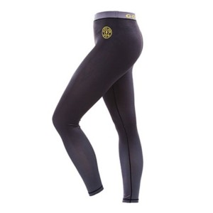 Gold Gym Ladies Long Legging - Grey