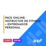 Pack Online: Instructor de fitness + Entrenador Personal