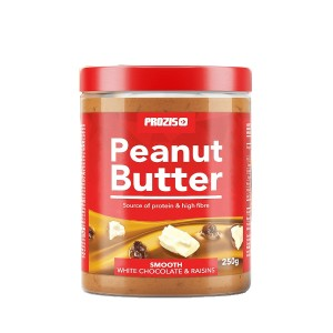 White Chocolate and Raisins Peanut Butter - 250 gr