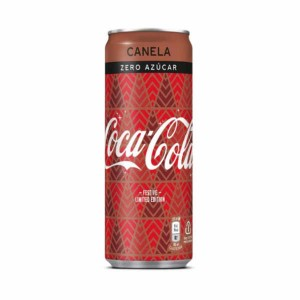 Coca-Cola Zero Canela - 250 ml