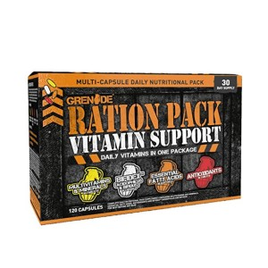 Ration Pack Vitamin Support - 120 caps.